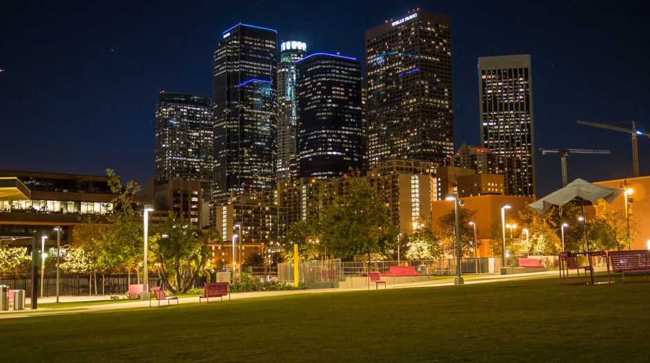 Photo of Time lapse nocturne de la beauté de la ville de Los Angeles