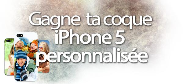 Concours : gagne ta coque iPhone 5 personnalisée avec Crazyphonic