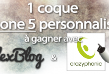 Photo of Concours : gagne ta coque iPhone 5 / 5C / 5S personnalisée avec Crazyphonic