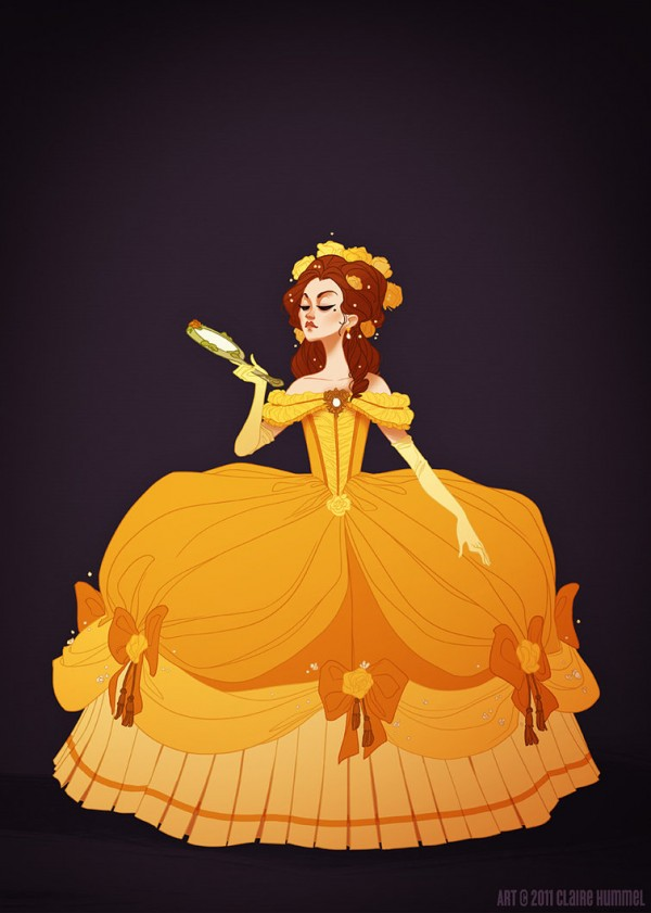 illustrations-princesses-disney-claire-hummel (1)