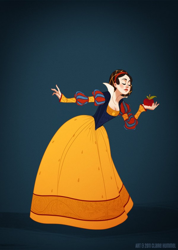 illustrations-princesses-disney-claire-hummel (2)