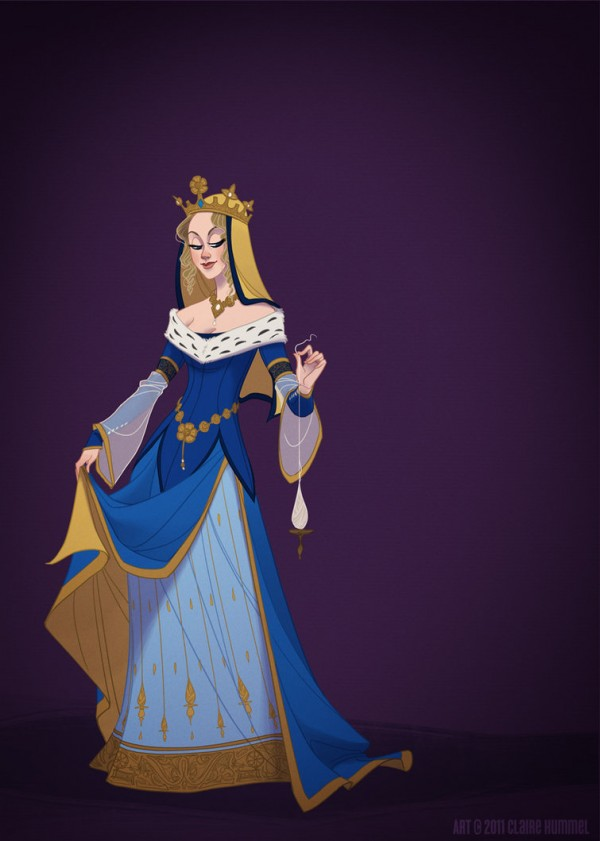 illustrations-princesses-disney-claire-hummel (7)