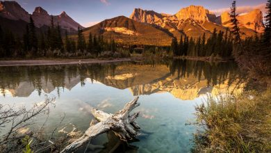 Photo of Photographie du jour #443 : Canmore Sunrise