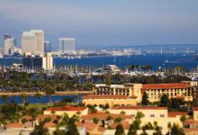Photo of La beauté de San Diego en time lapse et tilt shift