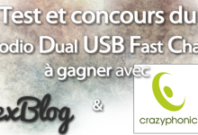 Photo of Concours et Test du Novodio Dual USB Fast Charger