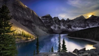 Photo of Photographie du jour #453 : Moraine Lake Sunset