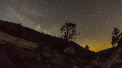 Photo of La beauté de la Sierra Nevada et de ses nuits étoilées en time lapse