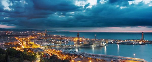 barcelone-time-lapse