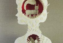 Photo of Les magnifiques sculptures papiers d'Elsa Mora