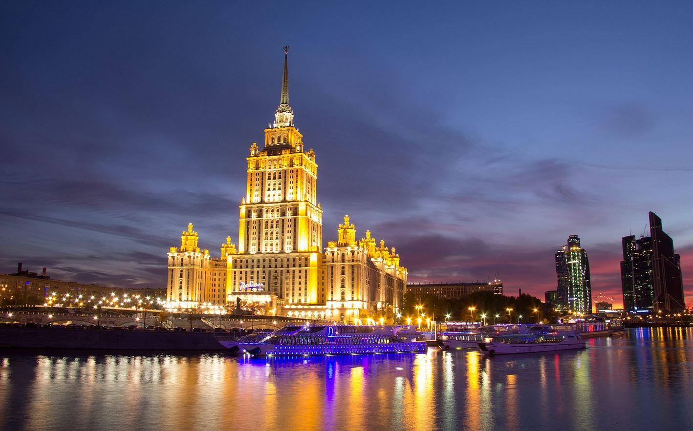 Time Lapse Sur La Beaut 233 De Moscou