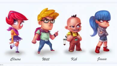Photo of Les personnages cartoons d'Adi Grajdeanu