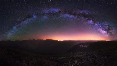 Photo of Photographie du jour #456 : Milky Way over the Rockies