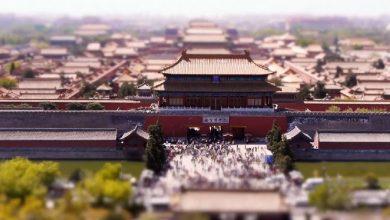 Photo of Time lapse avec des effets tilt shift sur Pékin