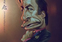 Photo of Caricatures des personnages de Breaking Bad par Anthony Geoffroy