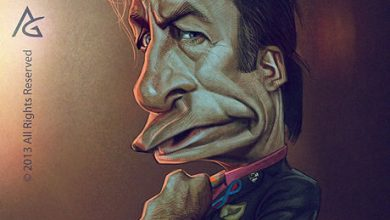 Photo of Caricatures des personnages de Breaking Bad par Anthony Geoffroy
