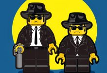 Photo of Personnages de films en LEGO par Dan Shearn