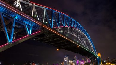 Photo of Vivid Sydney – time lapse du festival lumière & musique