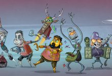 Photo of Les illustrations cartoons de Dominic Sodano