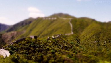 Photo of La Grande Muraille de Chine en miniature