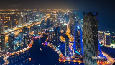 Photo of Les paysages urbains de Dubaï en time lapse
