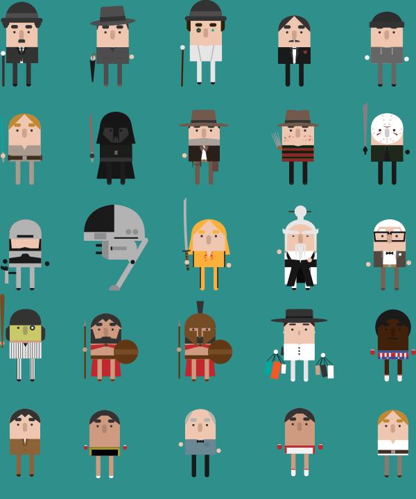 cinematics-video-personnages-films-classiques