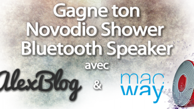 Photo of Concours : Découverte de l'enceinte Novodio Shower Bluetooth Speaker