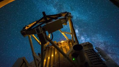 Photo of L'observatoire astronomique de Maui en time lapse