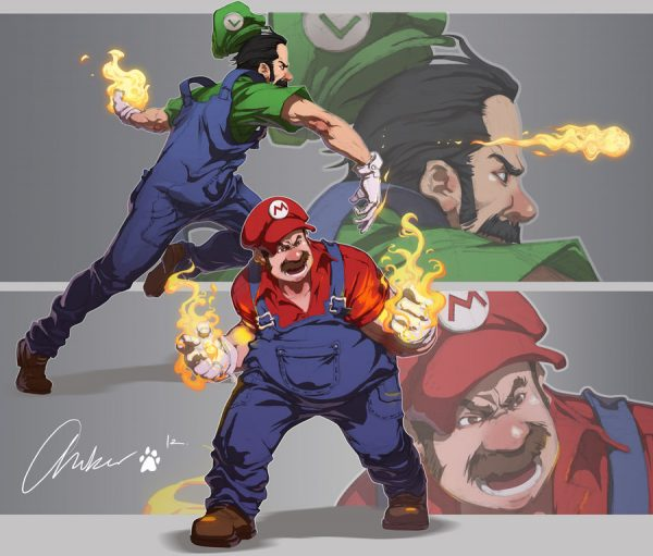 Illustrations-super-mario-bros-kudos-no-tierra (4)