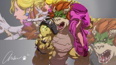 Photo of Illustrations des personnages de Super Mario Bros – Kudos No Tierra