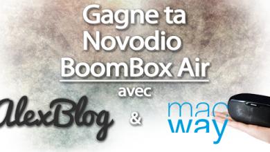 Photo of Concours : Découverte de l'enceinte bluetooth Novodio BoomBox Air