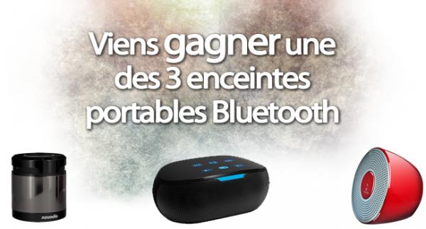 Concours spécial 24 ans de MacWay : 3 enceintes portables Bluetooth à gagner
