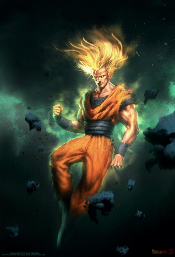 james-zapata-illustrations-personnages-son-goku