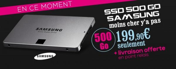 promo SSD Samsung 840evo 500g