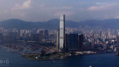 Photo of La ville de Hong Kong en miniature