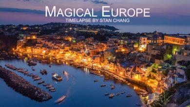 Photo of Voyage à travers l'Europe en time lapse