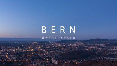 Photo of La beauté de la ville de Berne en time lapse