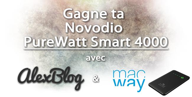 concours Novodio PureWatt Smart 400