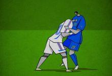 Photo of Les moment historiques du foot en affiches minimalistes – Osvaldo Casanova
