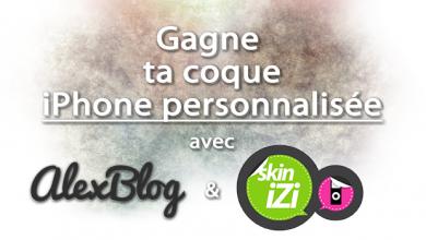 Photo of Concours : 2 coques iPhone personnalisées à gagner avec Skinizi