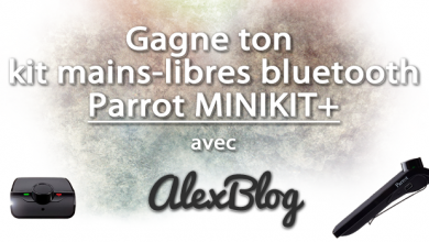 Photo of Découverte du kit mains-libres bluetooth Parrot MINIKIT+