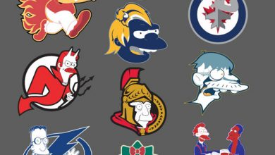 Photo of Les Simpsons transforment les logos de la NHL – ak47_studios