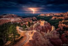 Photo of Photographie du jour #507 : Lightning over Bryce Canyon
