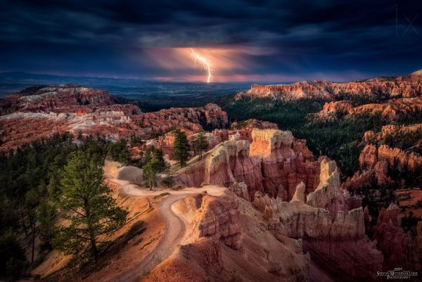 photographie-lightning-over-bryce-canyon