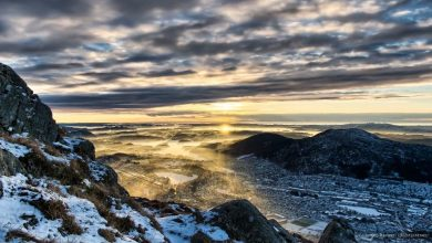 Photo of Bergen dans toute sa splendeur en time lapse