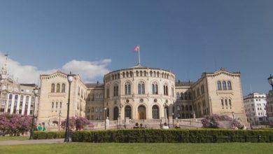 Photo of Time lapse sur la ville d'Oslo au printemps