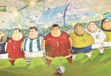 Photo of Si les joueurs de foot de la CDM étaient gros ?