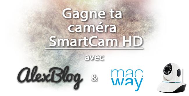concours  Novodio SmartCam HD