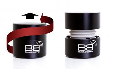 Découverte de l'enceinte portable Bluetooth BassBoomz
