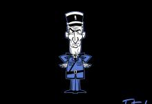 Photo of Illustrations cartoons de célèbres policiers par marisolivier
