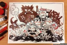 Photo of Les illustrations créatives  de personnages par Eduardo Vieira
